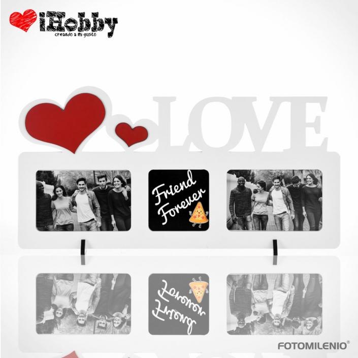 Portarretrato Love Frame